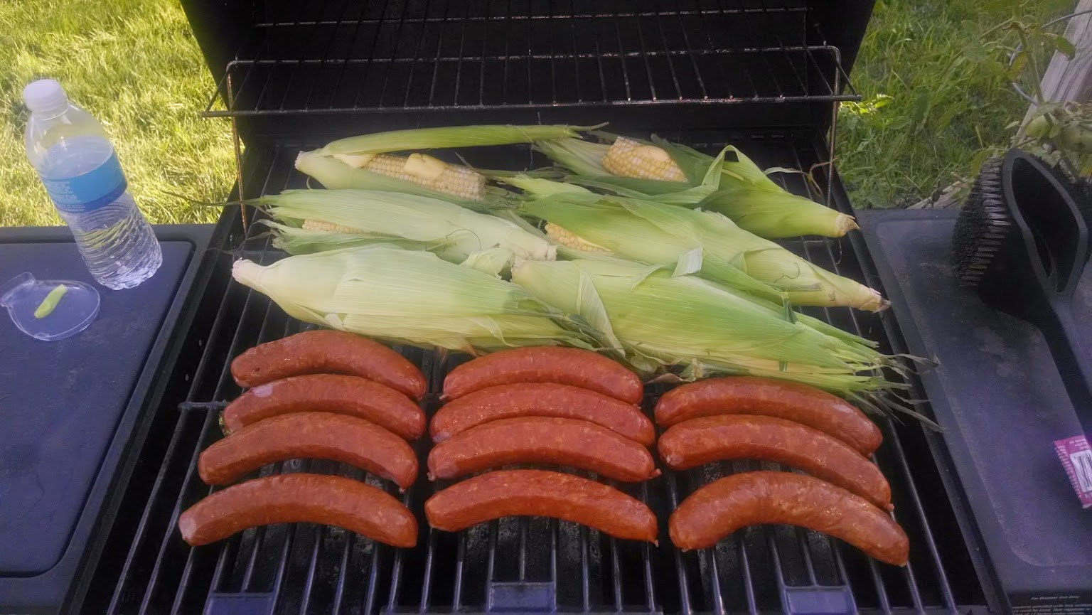 Corn and Brats