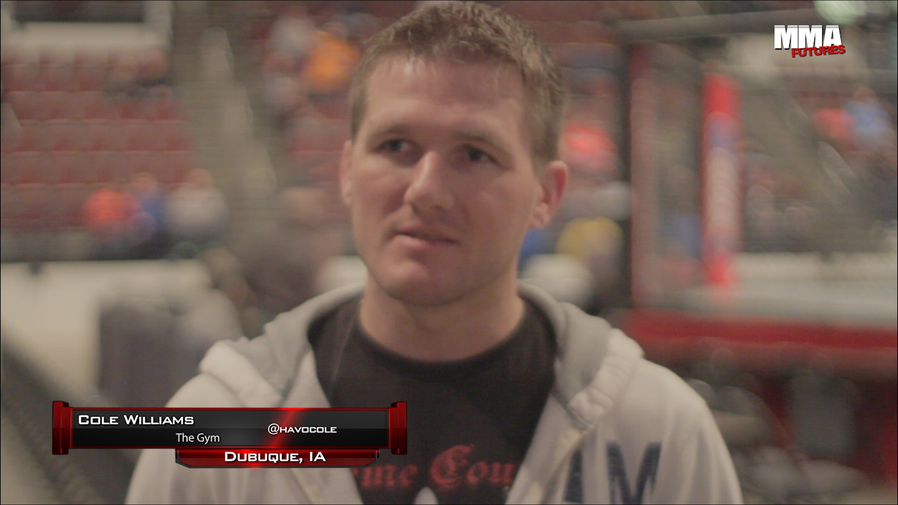 Meet a Fighter Cole Williams