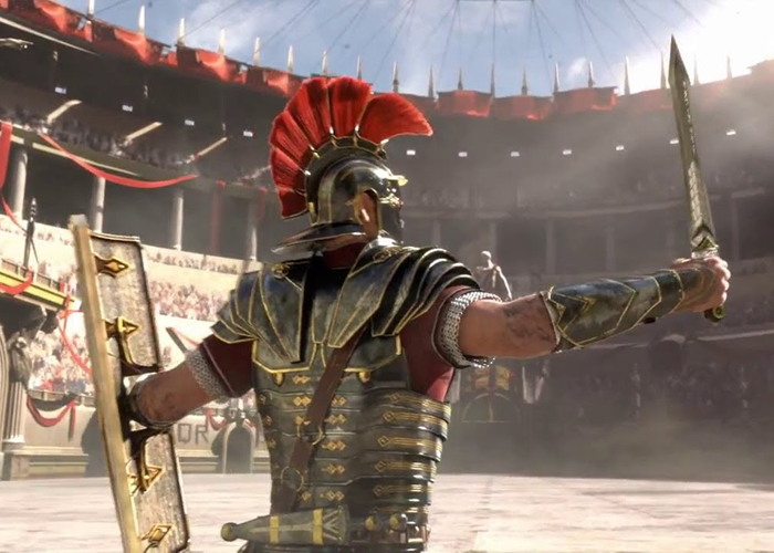 Compare roman gladiators to modern mma