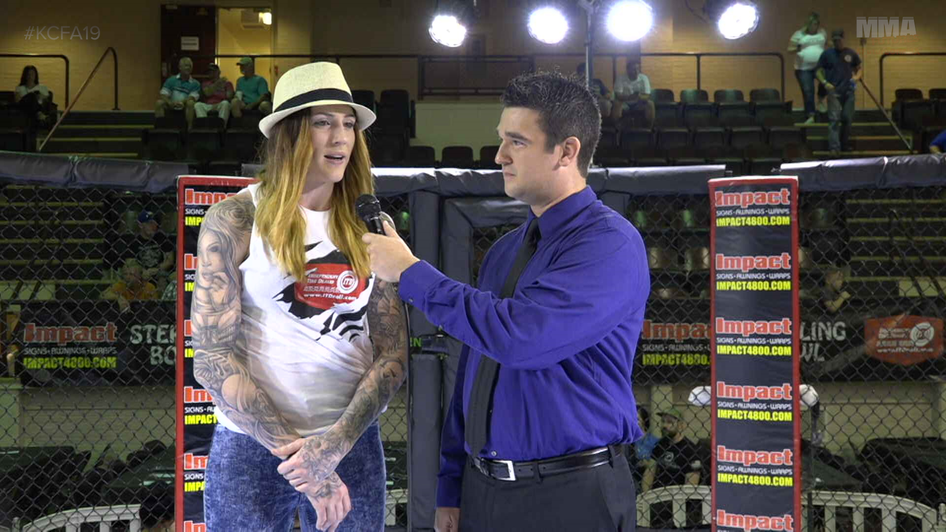 Megan Anderson Interview