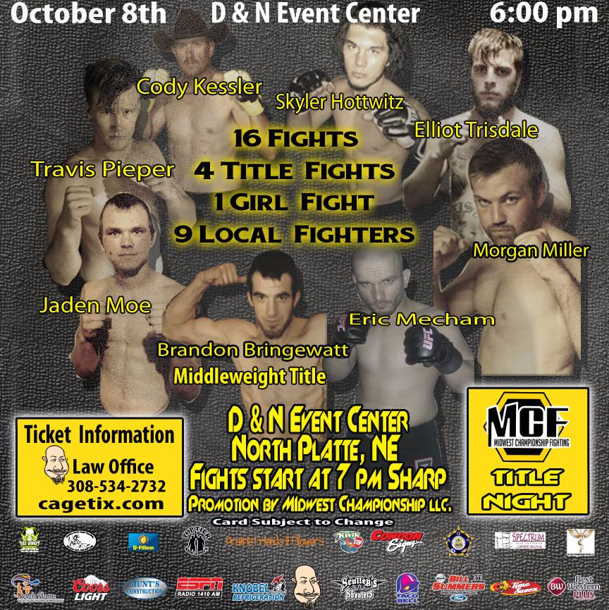 MCF 12: Ammy Title Fight Night