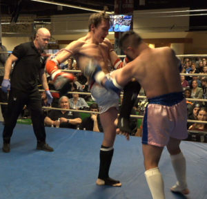 Muay Thai Clinch Work