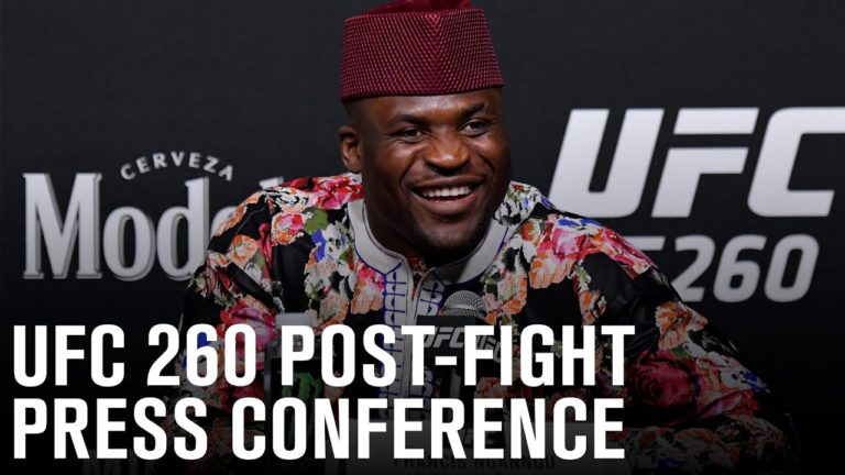 Francis Ngannou Lays Claim To Baddest Man Title With UFC 260 Victory